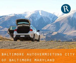 Baltimore Autovermietung (City of Baltimore, Maryland)