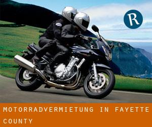 Motorradvermietung in Fayette County