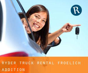 Ryder Truck Rental Froelich Addition